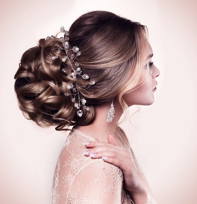 acconciatura sposa bride hair-do classy