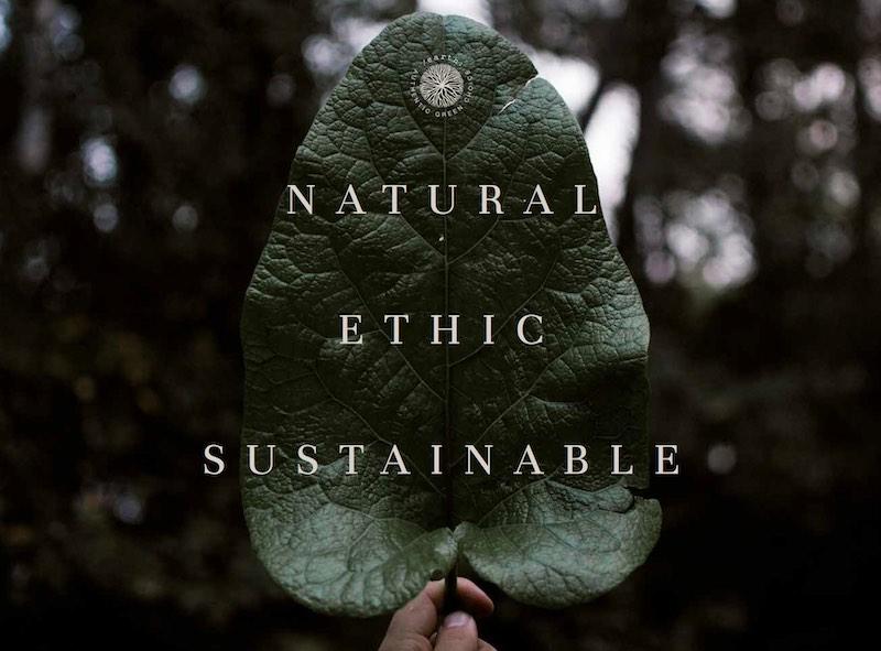 colore naturale etico e sostenibile